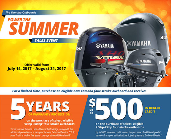 Yamaha - Outboard Motors Power The Summer! - Wyland's Marine